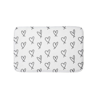 Crazy in love bath mats