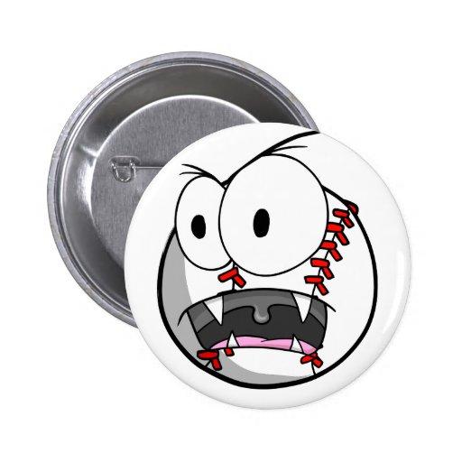 Crazy Insane Baseball button