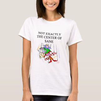 crazy insane psychology design T-Shirt