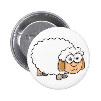 Crazy Insane Sheep button
