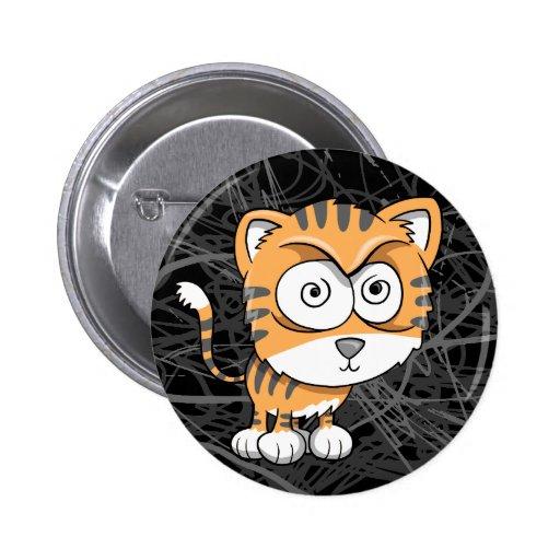 Crazy Insane Tiger Button
