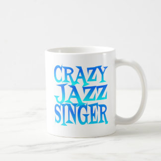 Crazy Jazz Singer Coffee Mug