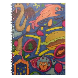 Crazy Journal Spiral Notebook