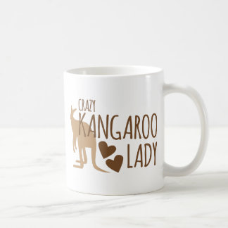 Crazy Kangaroo Lady Coffee Mug