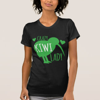Crazy Kiwi Lady T-Shirt