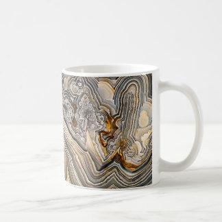 Crazy Lace Agate Coffee Mugs