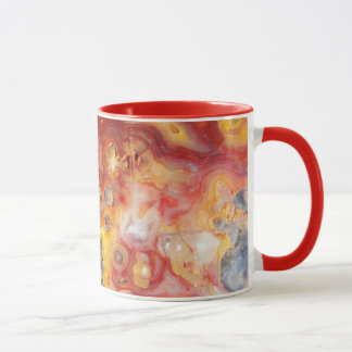 Crazy Lace Agate Pattern Coffee Mug