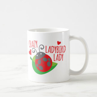 Crazy Ladybird Lady Coffee Mug