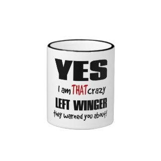 Crazy Left Winger Mug
