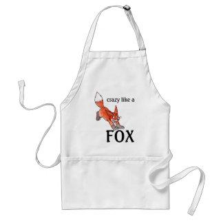 Crazy Like a Fox Apron