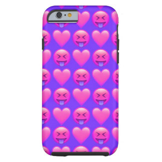 Crazy Love Emoji iPhone 6/6s Phone Case