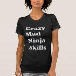 Crazy Mad Ninja Skills Woman's Shirt