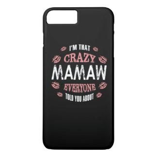 CRAZY MAMAW iPhone 8 PLUS/7 PLUS CASE