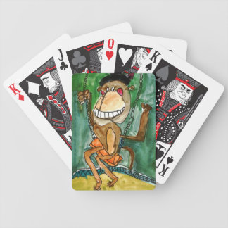 Crazy Monkey by Andrew Heye, Age 10 Bicycle Playing Cards