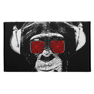 Crazy monkey iPad cases