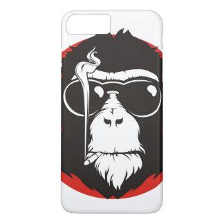 Crazy monkey design iPhone 7 plus case
