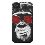 Crazy monkey iPhone 4 covers