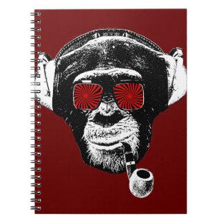 Crazy monkey notebook