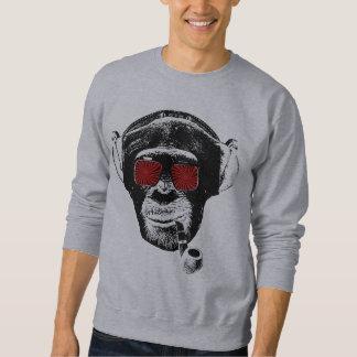 Crazy monkey pullover sweatshirts