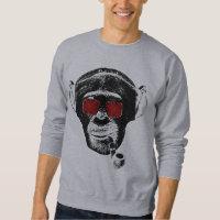Crazy monkey sweatshirt