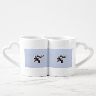 Crazy Motocross Coffee Mug Set