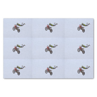 Crazy Motocross Tissue Paper