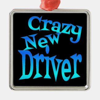 Crazy New Driver Christmas Ornament