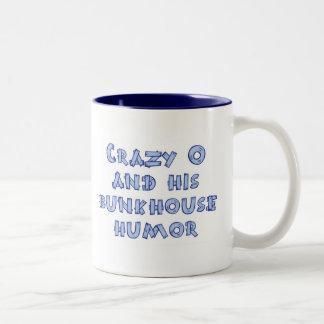 Crazy O mug