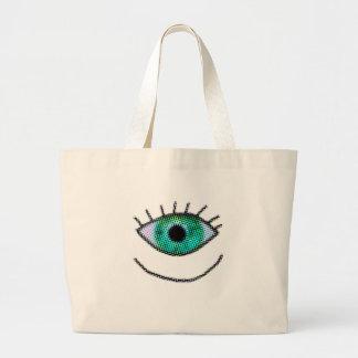 Crazy One Big Eye Bag