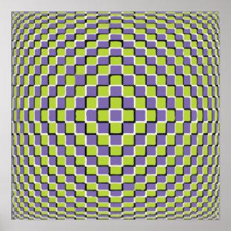 Crazy Optical Illusion - Infinite Circle Poster