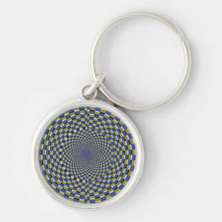 Crazy Optical Illusion - Temple Illusion Keychains