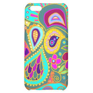 Crazy Paisley in Jade   Case iPhone 5C Case