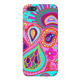 Crazy Paisley Pink, Pink, Pink!!!  Fuschia CASE iPhone 5/5S Case