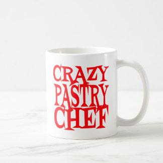 Crazy Pastry Chef Basic White Mug