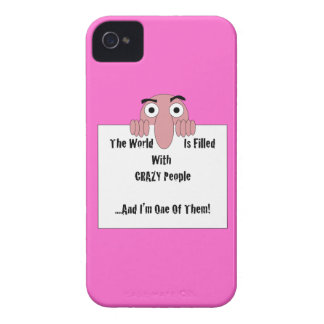 Crazy People  I'm One Of Them Case-Mate iPhone 4 Case