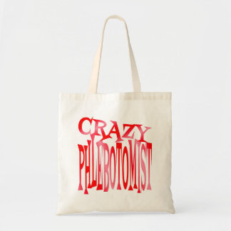 Crazy Phlebotomist Tote Bag