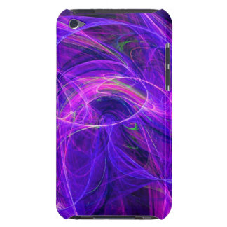 CRAZY PHOTON purple blue iPod Touch Cover
