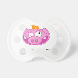crazy pig baby pacifiers