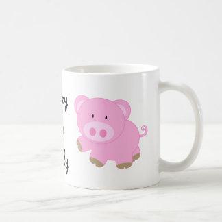 Crazy Pig Lady Mug