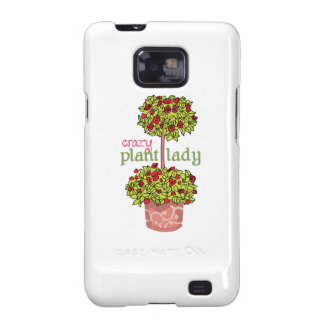 CRAZY PLANT LADY GALAXY SII COVERS