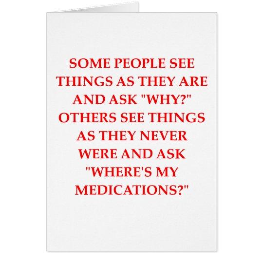 crazy psychiatrist joke card