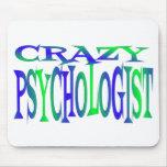 Crazy Psychologist Mouse Mats