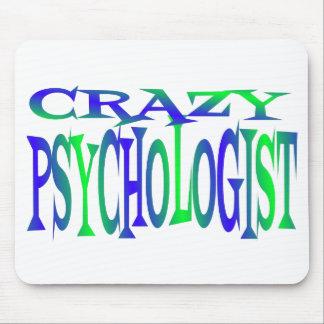 Crazy Psychologist Mouse Pad