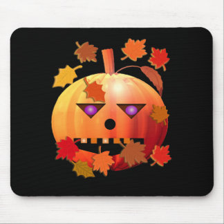 Crazy Pumpkin Mouse Mat
