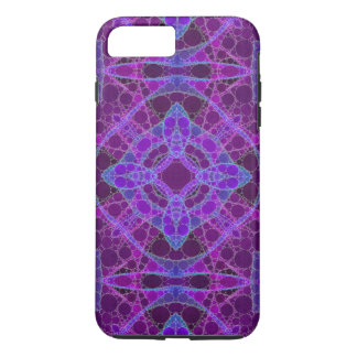 Crazy Purple Pink Abstract iPhone 8 Plus/7 Plus Case