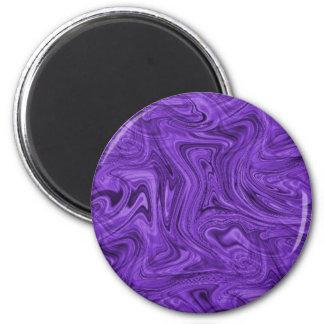 crazy_purple_swirlz fridge magnet
