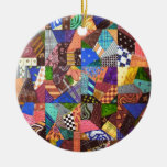 Crazy Quilt Patchwork Quilt Abstract Art Geometric