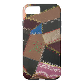 Crazy quilt upholstery, 1795-1815 iPhone 7 case