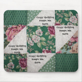 Crazy Quilting Mousepad