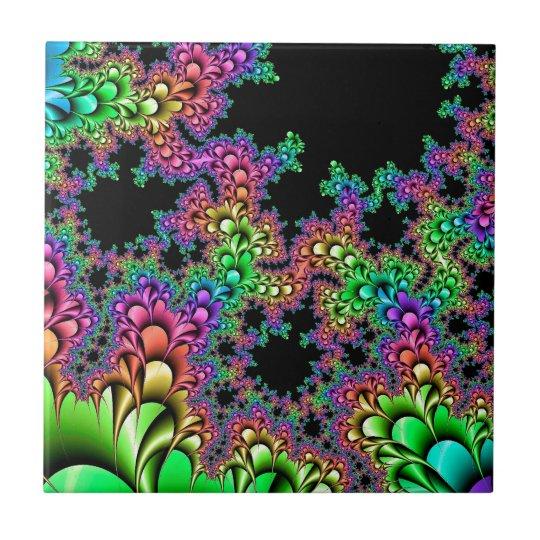 Crazy Rainbow Fractal Tile